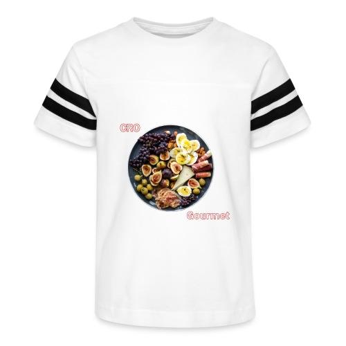 Croatian Gourmet - Kid's Vintage Sport T-Shirt