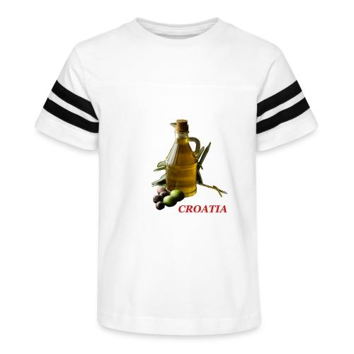 Croatian Gourmet 2 - Kid's Vintage Sport T-Shirt