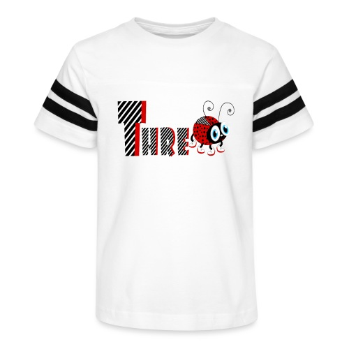 3nd Year Family Ladybug T-Shirts Gifts Daughter - Kid's Vintage Sport T-Shirt