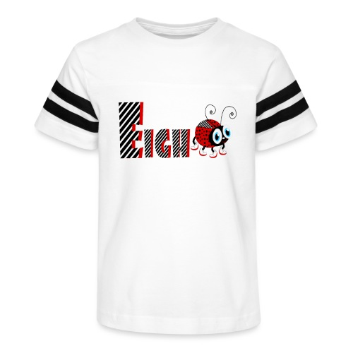 8nd Year Family Ladybug T-Shirts Gifts Daughter - Kid's Vintage Sport T-Shirt