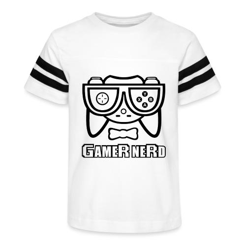 Nerds - Gamer Nerd - Kid's Vintage Sport T-Shirt