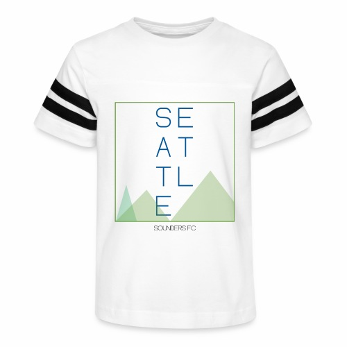 Seattle - Kid's Vintage Sport T-Shirt