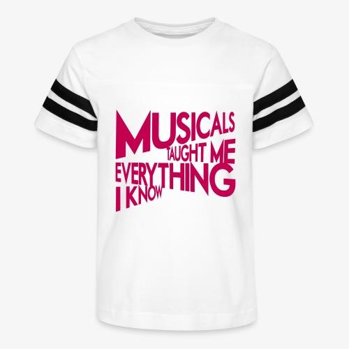 MTMEIK Pink Logo - Kid's Vintage Sport T-Shirt