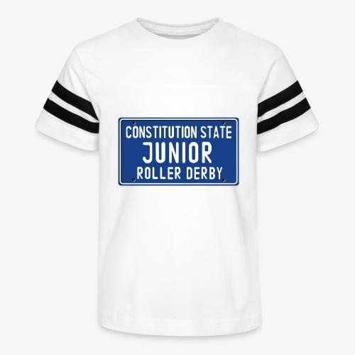 Constitution State Junior Roller Derby - Kid's Vintage Sport T-Shirt