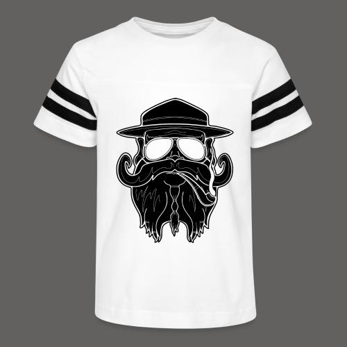 OldSchoolBiker - Kid's Vintage Sport T-Shirt