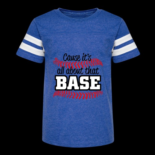 all about that base - Kid's Vintage Sport T-Shirt