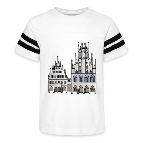 Town Hall Münster, Cityhall, Mayor - Kid's Vintage Sport T-Shirt