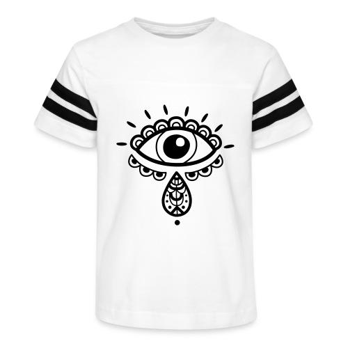 Cosmos 'Teardrop' - Kid's Vintage Sport T-Shirt