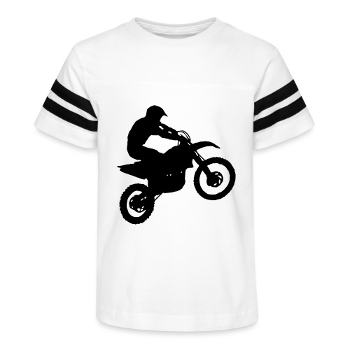 Motocross Dirt biker - Kid's Vintage Sport T-Shirt