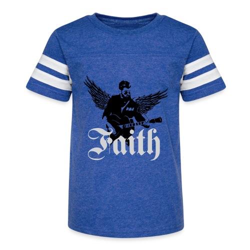 faithwings png - Kid's Vintage Sport T-Shirt