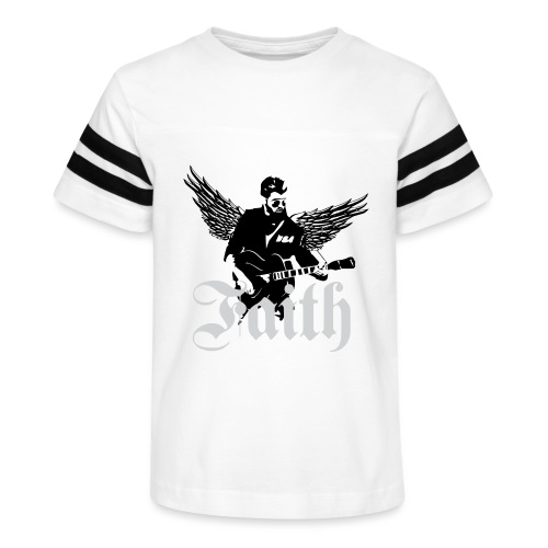 faithwings png - Kid's Vintage Sport T-Shirt
