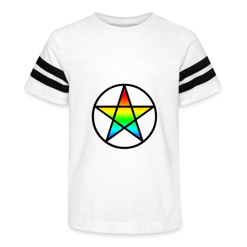 Official Iridescent Tee-Shirt // Men's // White - Kid's Vintage Sport T-Shirt
