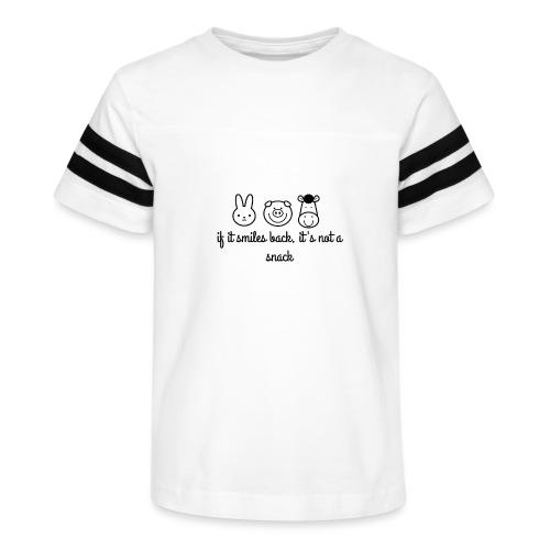SMILE BACK - Kid's Vintage Sport T-Shirt