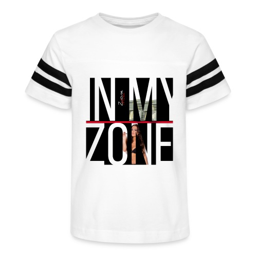 In The Zone - Kid's Vintage Sport T-Shirt