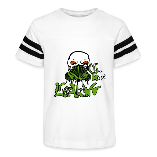 Leaking Gas Mask - Kid's Vintage Sport T-Shirt