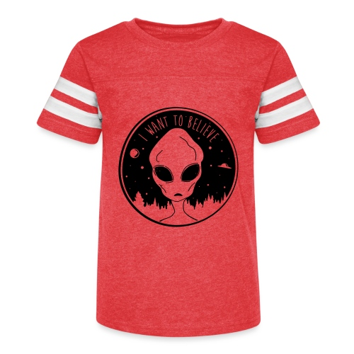 I Want To Believe - Kid's Vintage Sport T-Shirt