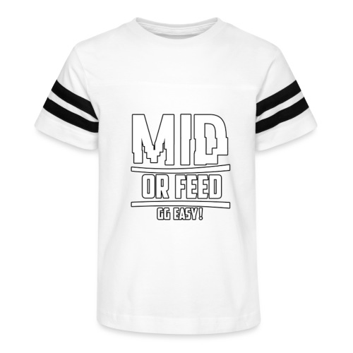 MID OR FEED - Kid's Vintage Sport T-Shirt