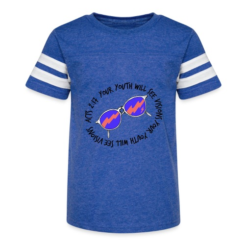oie_transparent_-1- - Kid's Vintage Sport T-Shirt