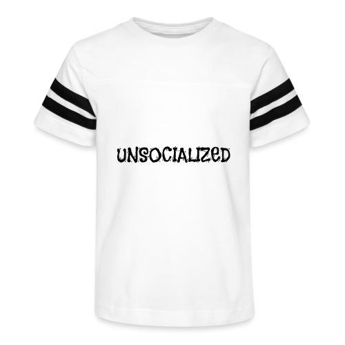 Unsocialized - Kid's Vintage Sport T-Shirt
