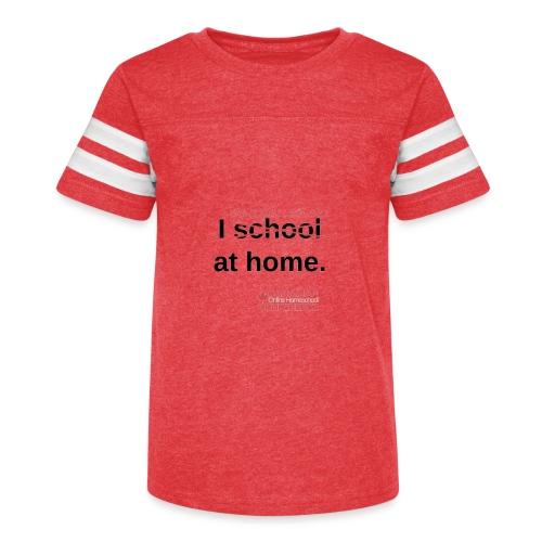 Canadian Homeschool Conference Mug - Kid's Vintage Sport T-Shirt