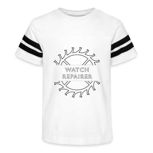 Watch Repairer Emblem - Kid's Vintage Sports T-Shirt