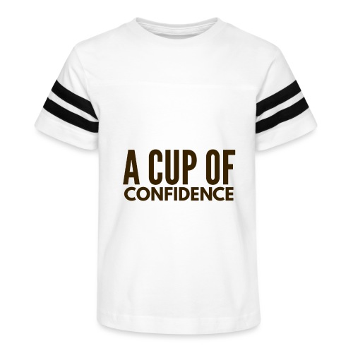 A Cup Of Confidence - Kid's Vintage Sport T-Shirt