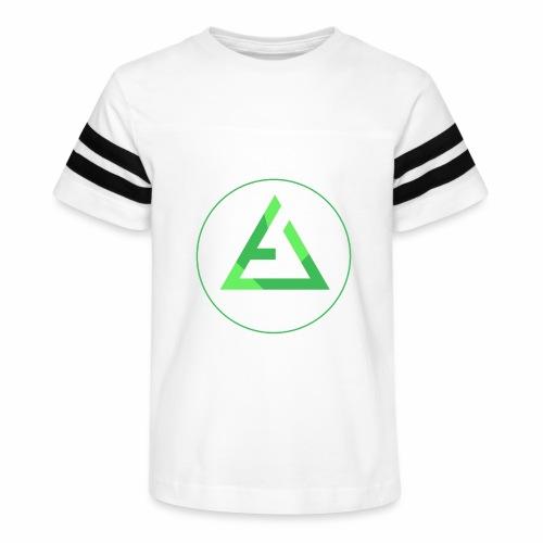 crypto logo branding - Kid's Vintage Sport T-Shirt