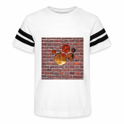 Wallart - Kid's Vintage Sport T-Shirt