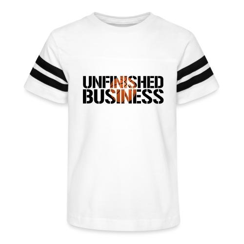 Unfinished Business hoops basketball - Kid's Vintage Sport T-Shirt