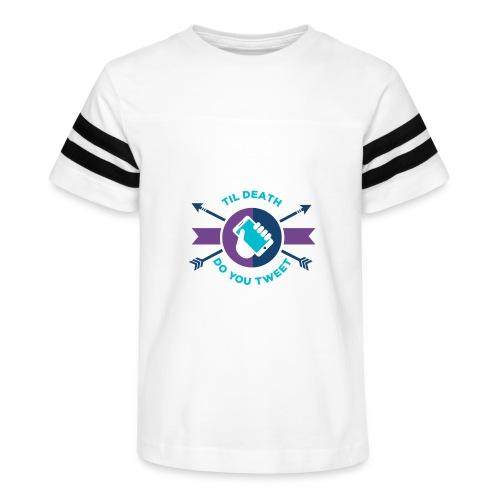 TDDYT blue - Kid's Vintage Sport T-Shirt