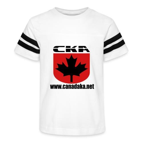 CKA Back 1 - Kid's Vintage Sport T-Shirt