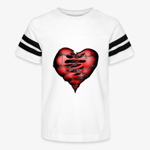 Chains Heart Ceramic Mug - Kid's Vintage Sport T-Shirt