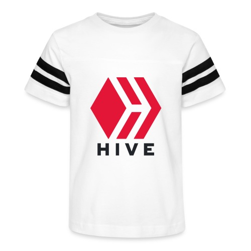 Hive Text - Kid's Vintage Sport T-Shirt