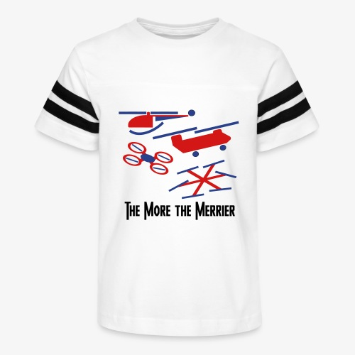 The More the Merrier - Kid's Vintage Sport T-Shirt