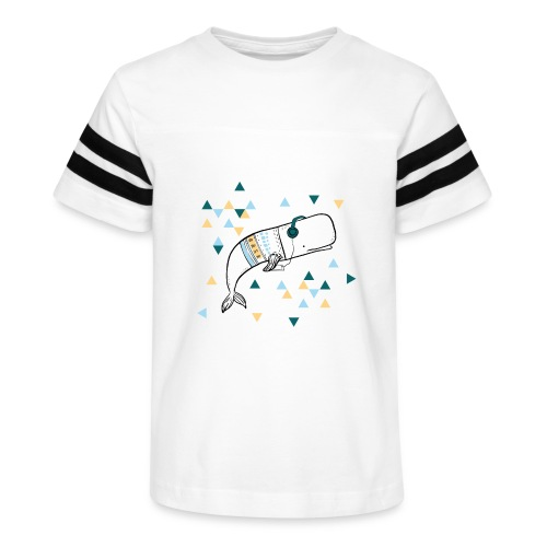 Music Whale - Kid's Vintage Sport T-Shirt