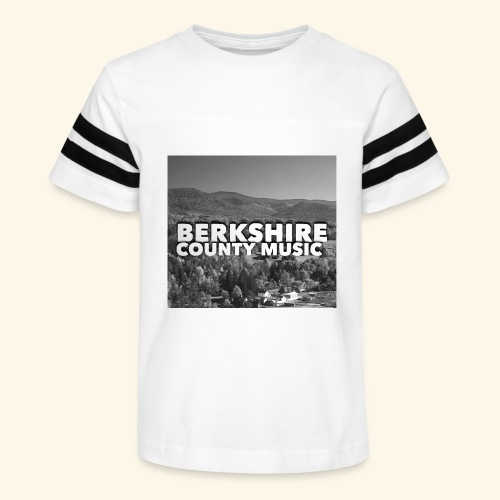 Berkshire County Music Black/White - Kid's Vintage Sport T-Shirt