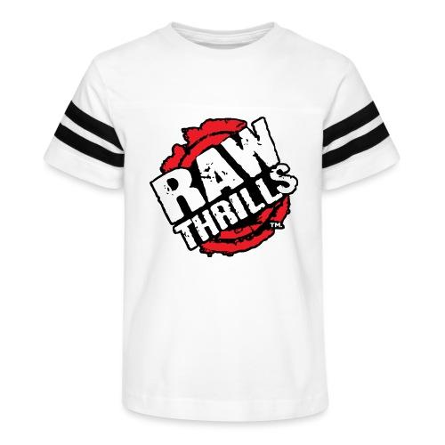 Raw Thrills - Kid's Vintage Sports T-Shirt