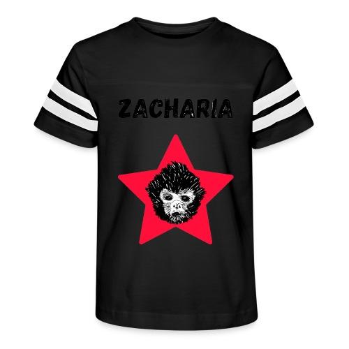 transparaent background Zacharia - Kid's Vintage Sport T-Shirt