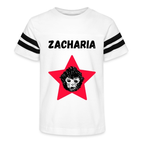 transparaent background Zacharia - Kid's Vintage Sport T-Shirt