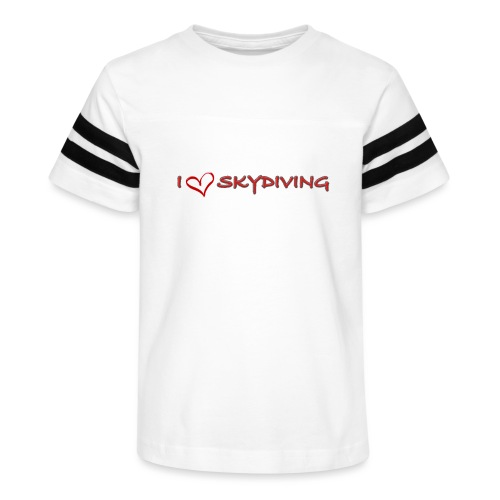 I love skydiving T-shirt/BookSkydive - Kid's Vintage Sport T-Shirt