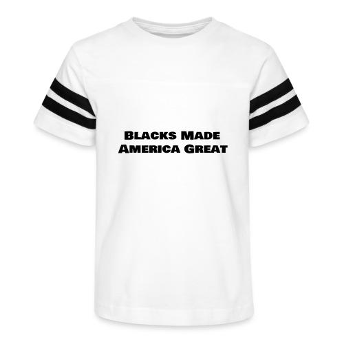 (blacks_made_america) - Kid's Vintage Sport T-Shirt