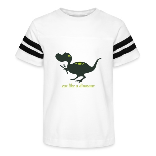 Eat Like A Dinosaur - Kid's Vintage Sport T-Shirt