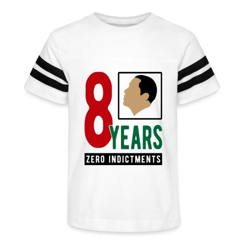Obama Zero Indictments - Kid's Vintage Sport T-Shirt