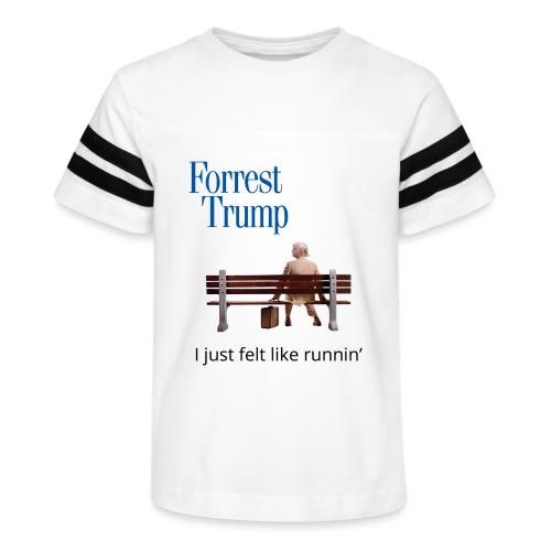 Forrest Trump - Kid's Vintage Sport T-Shirt