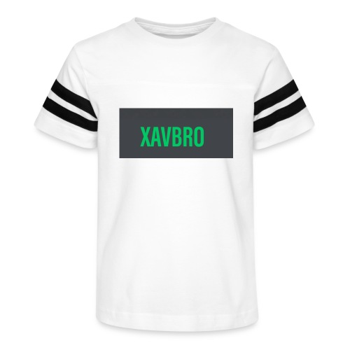 xavbro green logo - Kid's Vintage Sport T-Shirt