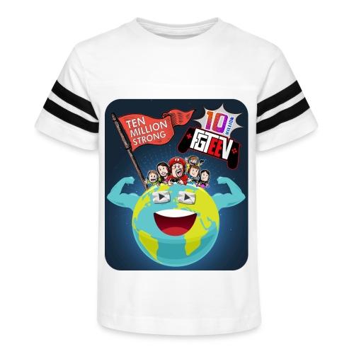 FGTeeV 10 Million (Adult) - Kid's Vintage Sport T-Shirt