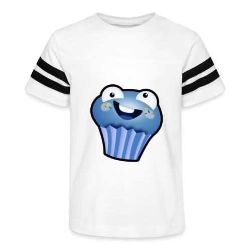 הלוגו של מאפין - Kid's Vintage Sport T-Shirt