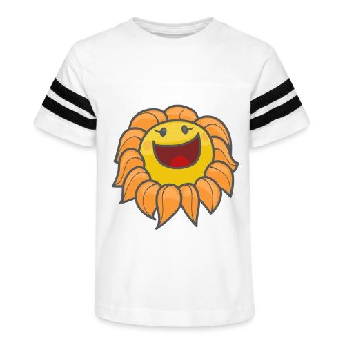 Happy sunflower - Kid's Vintage Sport T-Shirt