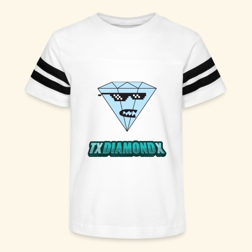 Txdiamondx Diamond Guy Logo - Kid's Vintage Sport T-Shirt