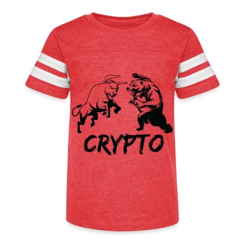 CryptoBattle Black - Kid's Vintage Sport T-Shirt